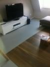 Beschichtung und Parkett im Wohnzimmer